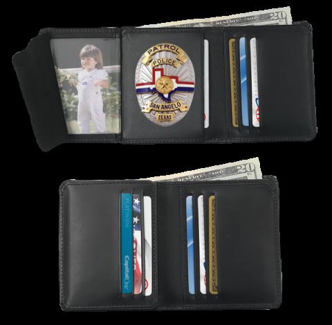 credit card badge wallet