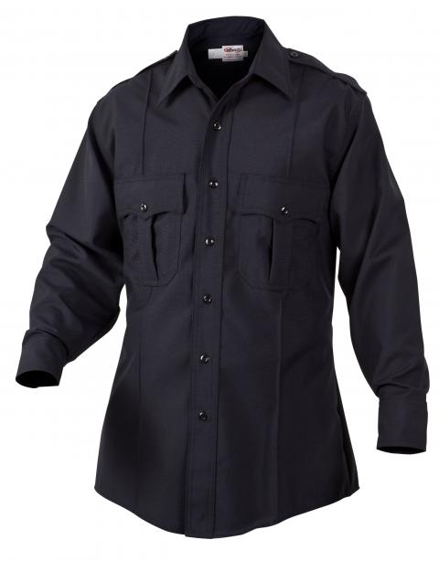 Prestige poly wool LS shirt