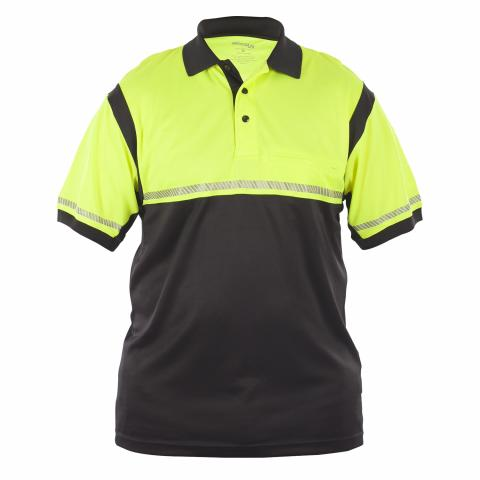 UFX Ultra-Light Hi-Vis/Navy SS Polo