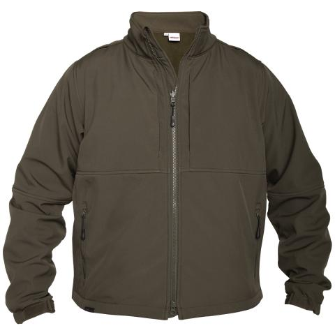 Soft Shell Performance Jacket, #SH3509, OD Green