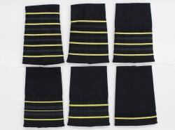 Fire Slip on Ranks, CAFC Thin Braid Epaulettes