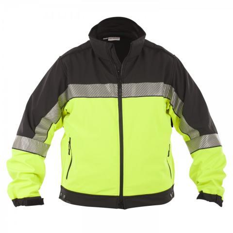 Shield Hi Vis Soft Shell Jacket