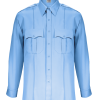 TexTrop Long Sleeve blue shirt